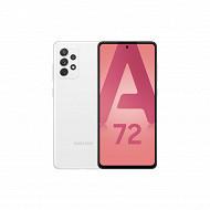 """Samsung Smartphone 6.7"""" GALAXY A72 BLANC"""
