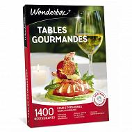 Wonderbox Tables gourmandes