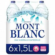 Mont Blanc eau minérale naturelle 6x1.5l