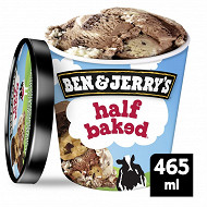 Ben & Jerry's glace en pot half baked 465ml - 406g