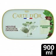 Carte d'or bac glace menthe 900ml