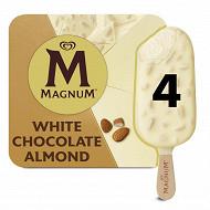 4 magnum blanc amande 400ml 292g