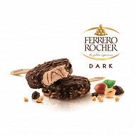 Ferrero rocher glace noisette et chocolat noir x4 - 200g