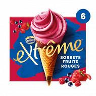 Extrême framboise cassis fraise x6 720ml 426g