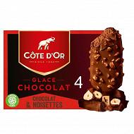 Cote d'or chocolat - lait noissette 260G