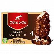 Cote d'or vanille lait noisette 260g