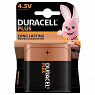 Duracell pile alcaline plus power 4,5V lot de 1