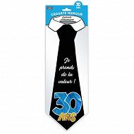 Cravate 30 ans