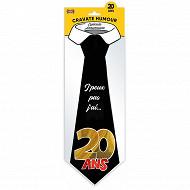 Cravate 20 ans