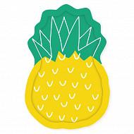 Mesa bella assiette x8 forme ananas 27.5x19cm