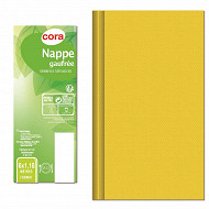 Cora nappe rouleau chevron jaune 6x1.18m