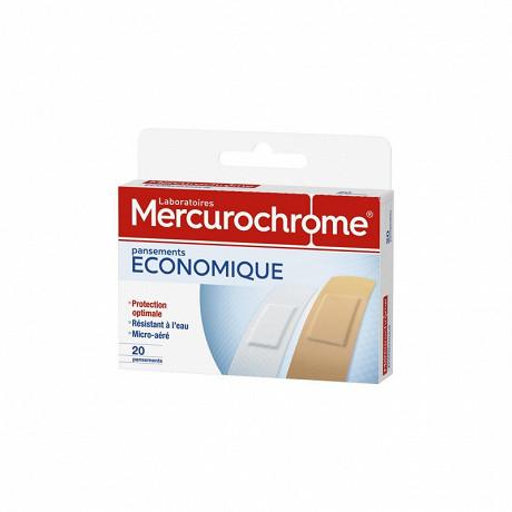 Mercurochrome pansements famille universel, 50 unités