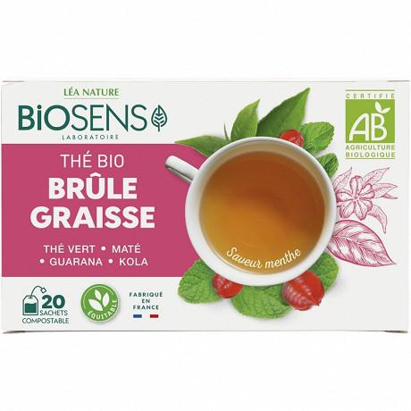 Biosens thé brûle graisse bio 20 sachets 30g