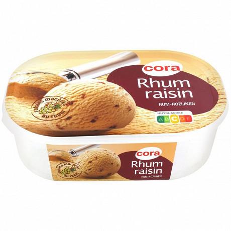 Cora bac rhum raisin 1l 500g