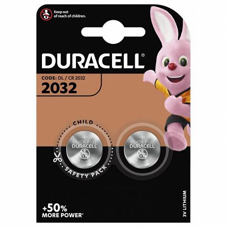 Duracell 2 piles pour appareil electronique spe 2032x2