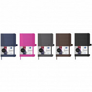 Oxford carnet office signature brichure 9x14 160pages assorti 10 couleurs