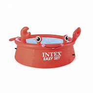 Piscinette easy set autoportante crabe 1m83 x 51cm