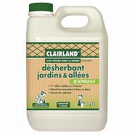 Clairland biocontrole désherbant jardins allees apdln concentre 2,5l