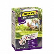 ALGOFLASH NATURASOL Engrais Gazon 3 Actions NATURANID  3kg