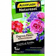 Algoflash Naturasol engrais Fleurs rosiers massifs 800 g