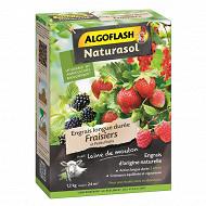 Algoflash naturasol engrais fraisiers et petits fruits longue durée 1,2 kg