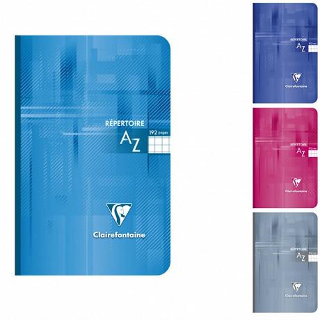 Clairefontaine  répertoire brochure 11x17 cm 192 pages petits carreaux 90 grammes