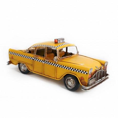 """Taxi """"nyc"""" 28x12x12cm métal"""
