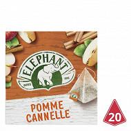 Eléphant infusion pomme cannelle 20 sachets 36g