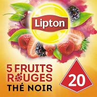 Lipton thé 5 fruits rouges x20 34g