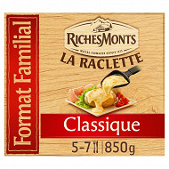 RichesMonts raclette tranchettes classique 850g