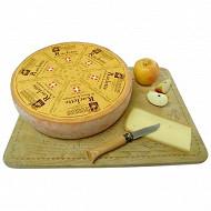 Raclette de Savoie au lait cru tranchée Patrimoine gourmand