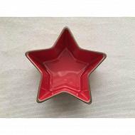 Ramequin en gres forme étoile diametre 11.4cm