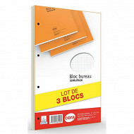 Cora lot de 3 blocs 21x31.5 cm 160 pages 80 g 5/5