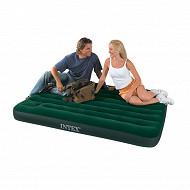 Intex matelas airbed gonfleur à pied incorporé 2 places