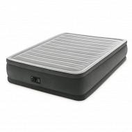 Lit gonfable comfort plush 2 places elec fiber tech