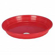 Riviera soucoupe diamètre 14.5cm rouge