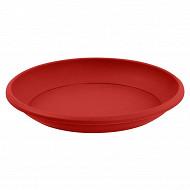 Eda soucoupe marina/cancun diamètre 30 cm non clipsé rouge rubis