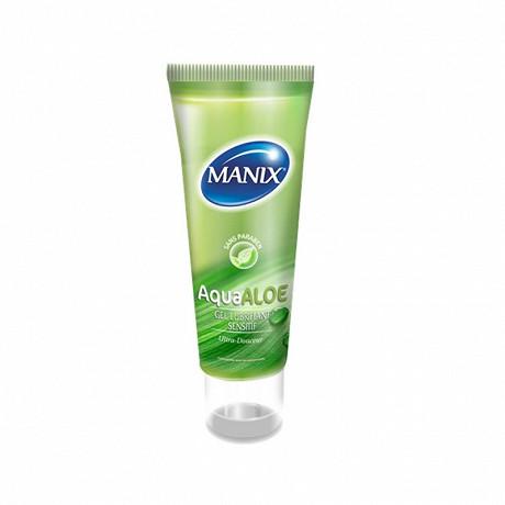 Manix gel lubrifiant aqua aloé 80ml