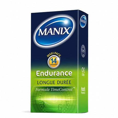 Manix preservatifs endurance x14