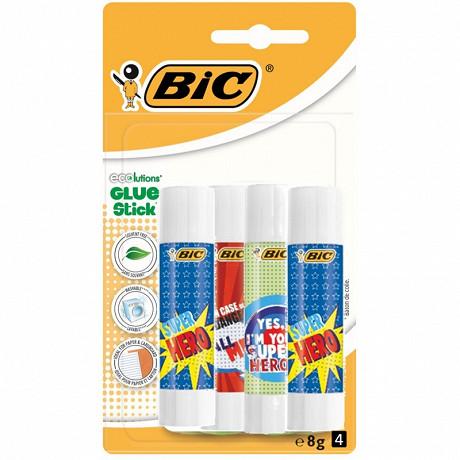 Colle décorée stick écolution glue 8g x4