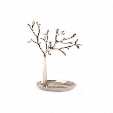 Arbre à bijoux 30x23x11cm en aluminium