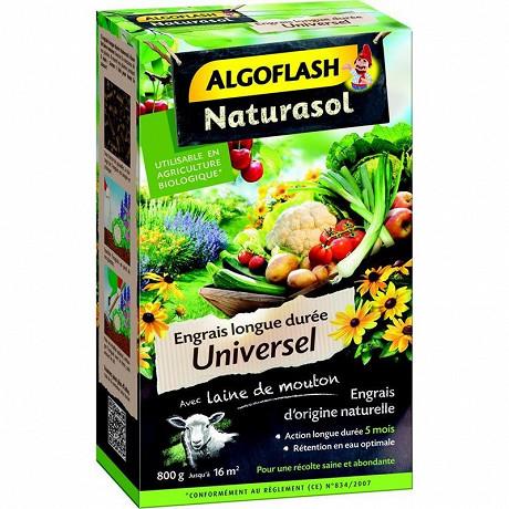 Algoflash Naturasol Engrais Universel longue durée 800 g