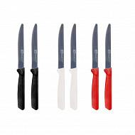 2 couteaux a dents 21.5cm