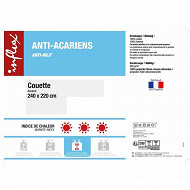 "Couette 240x220 ""anti-acariens"""