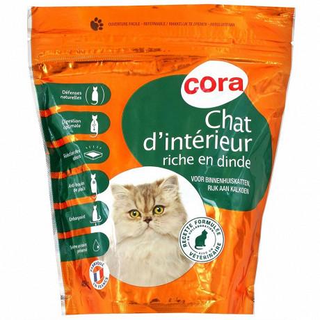 Cora croquettes premium chat d'intérieur 450g