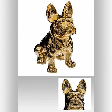 Bulldog dore h22cm