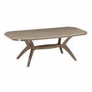Grosfillex table ibiza taupe 2200x1000x720 cm