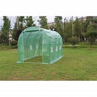 Jardin sauvage serre de jardin tunnel dim : 2x3xh2 mètres surface de 6m2