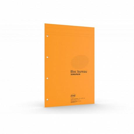 Cora bloc a4+ P 210x315 mm 160 pages 80 grammes petits carreaux