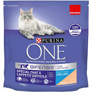 One chat appétit difficile cabillaud & truite 1.5kg